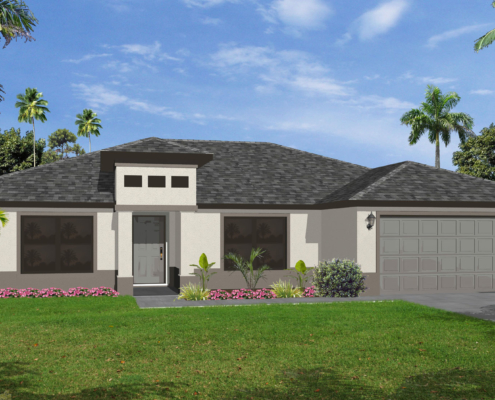The Cay Model Home by Cay Homes, Inc.