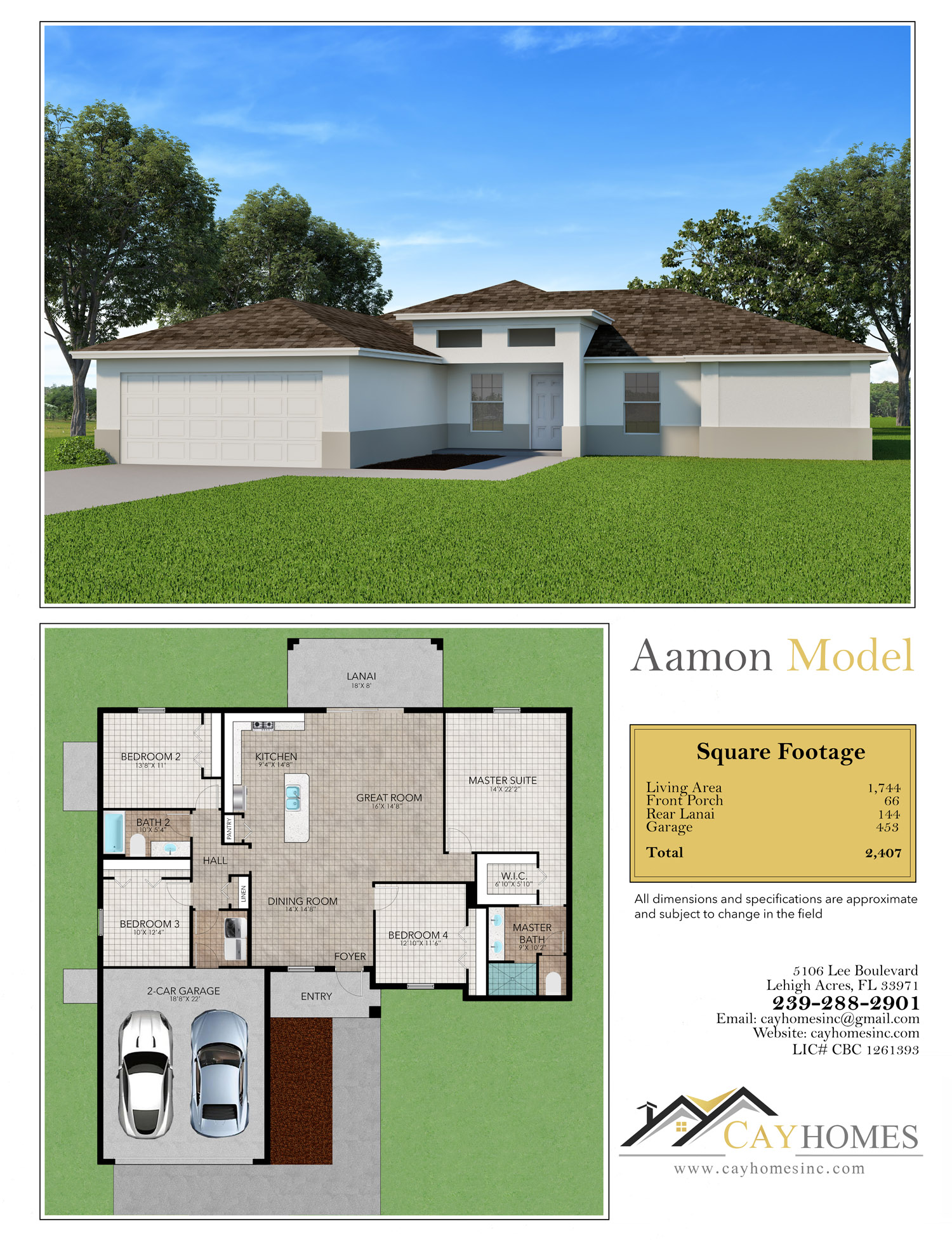 Aamon Model by Cay Homes
