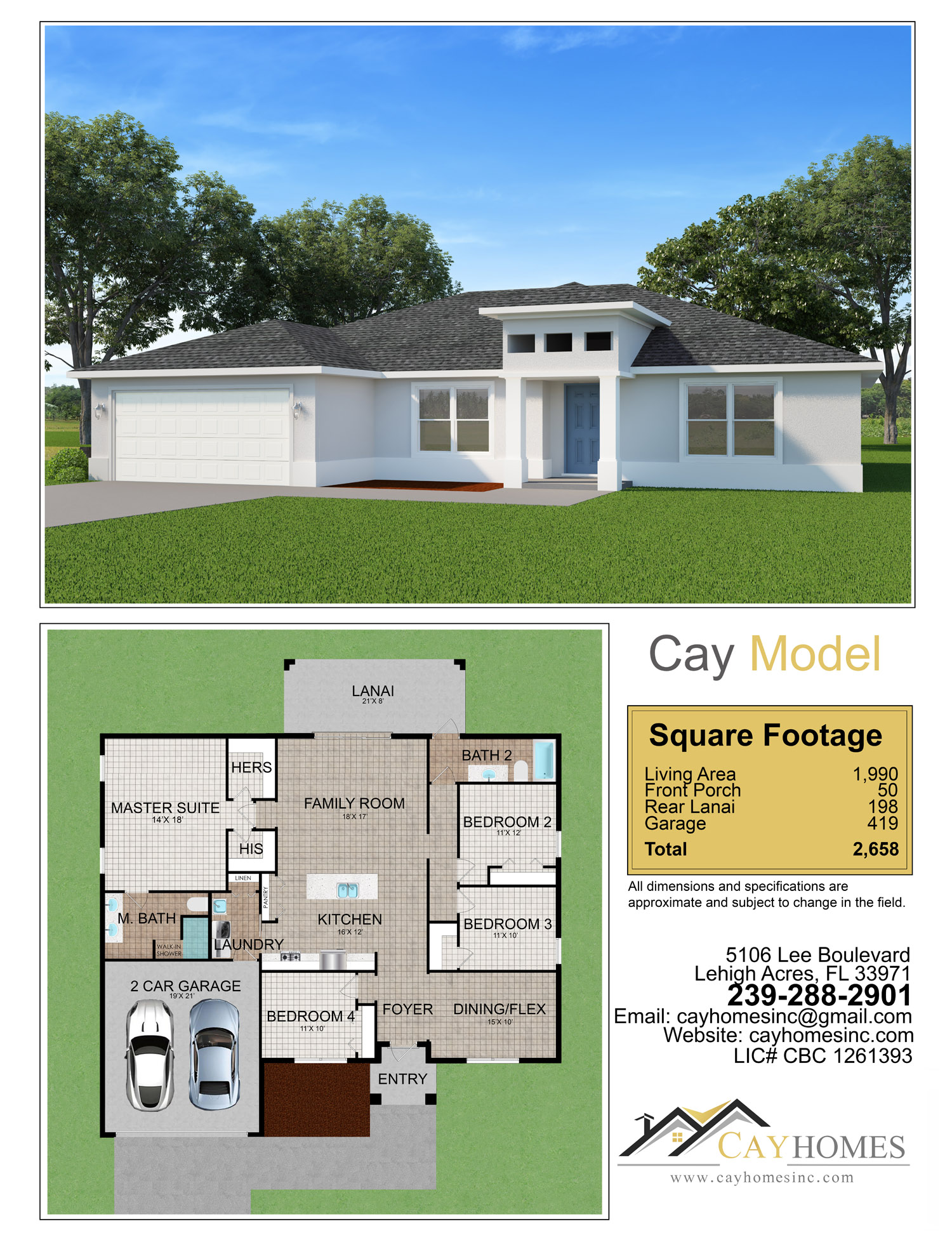 Cay Model by Cay Homes