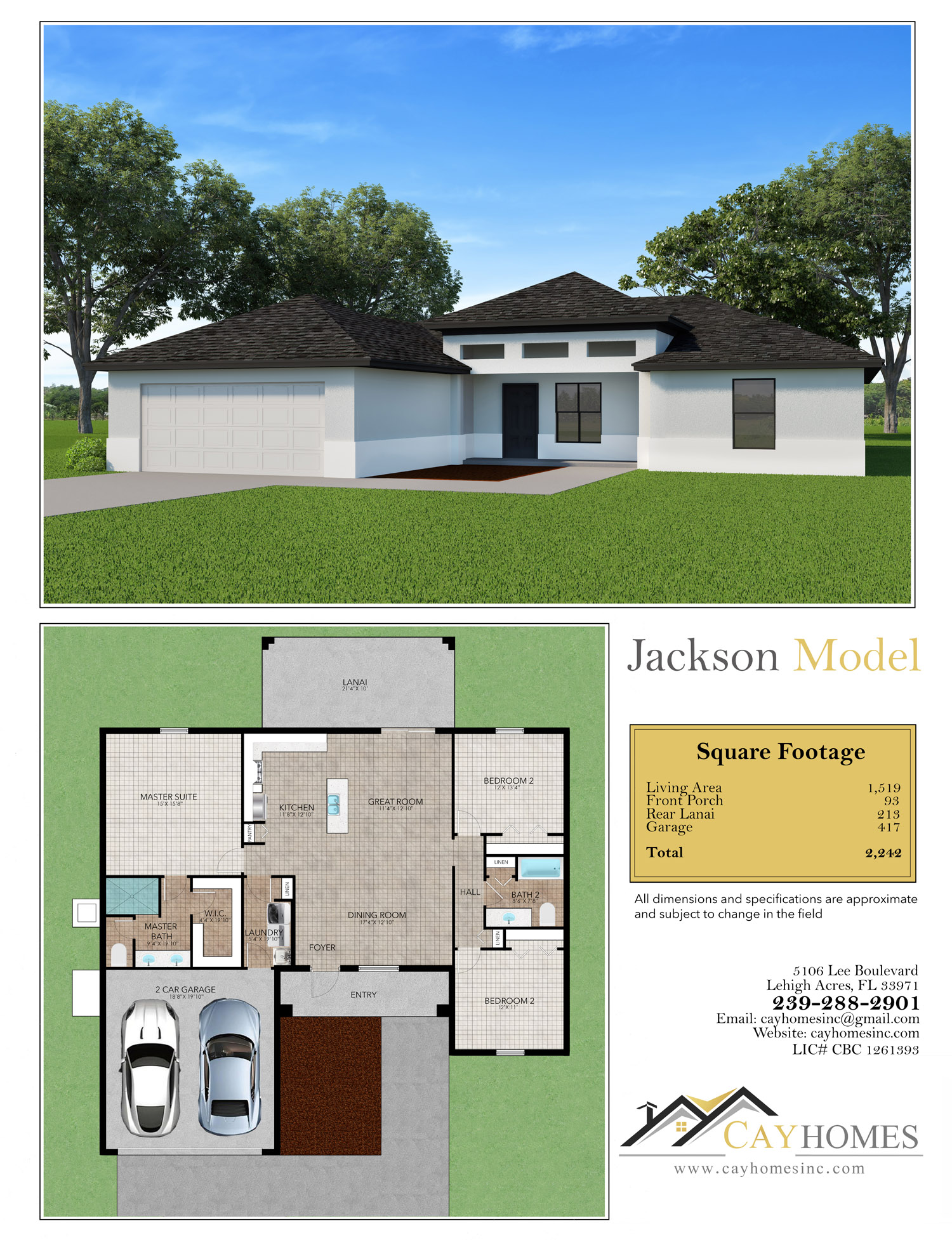 The Jackson Model by Cay Homes